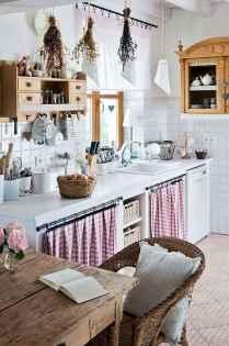 70 Best Farmhouse Kitchen Curtains Decor Ideas (69)