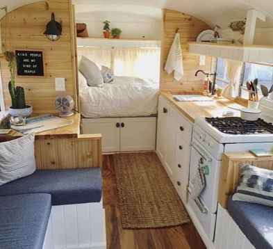 70 Brilliant RV Living Iinterior Remodel Ideas On A Budget (29)