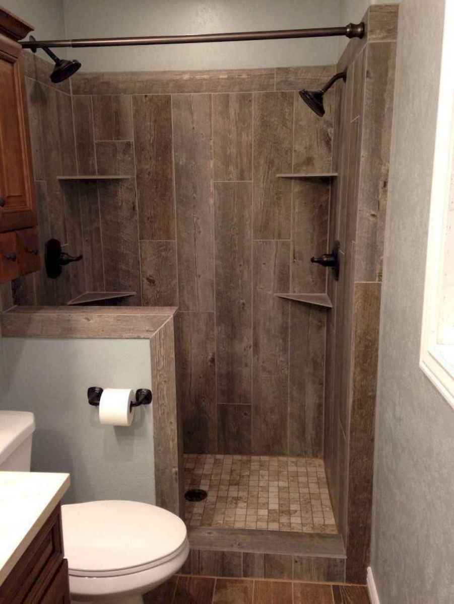 80 Best Farmhouse Tile Shower Ideas Remodel (106)