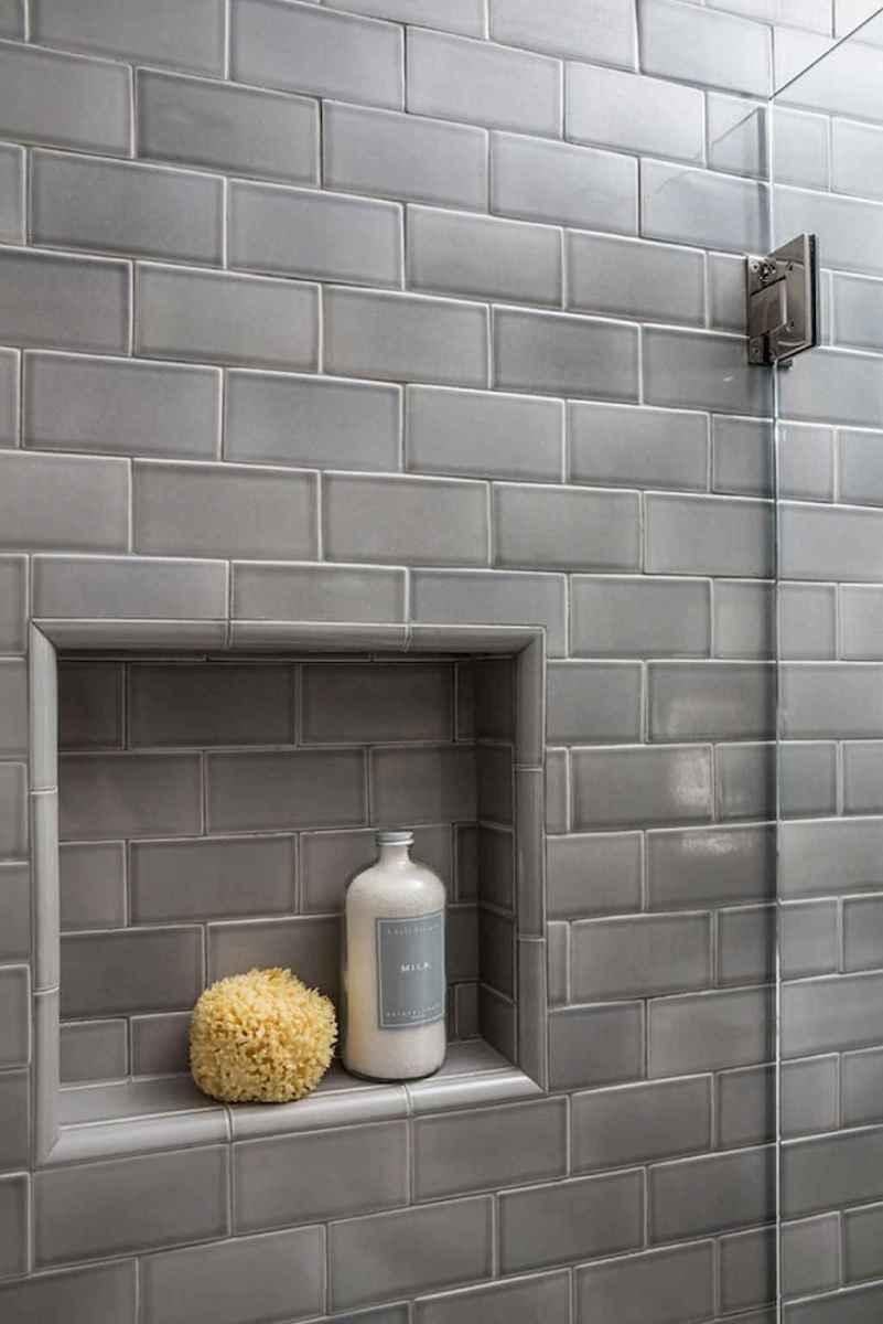 80 Best Farmhouse Tile Shower Ideas Remodel (123)