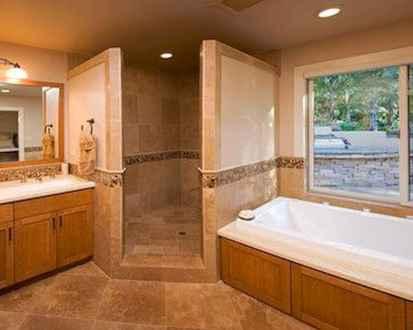 80 Best Farmhouse Tile Shower Ideas Remodel (127)