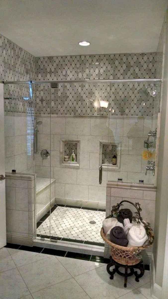 80 Best Farmhouse Tile Shower Ideas Remodel (130)