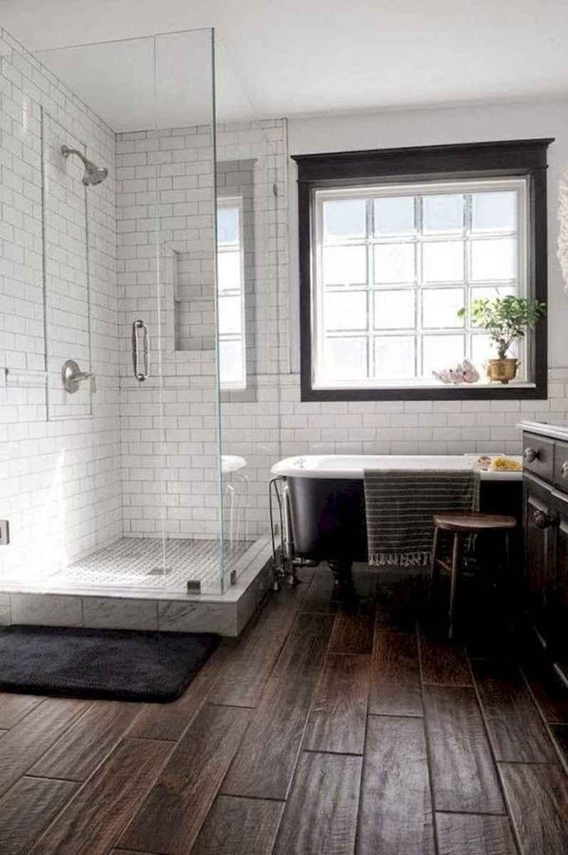 80 Best Farmhouse Tile Shower Ideas Remodel (131)