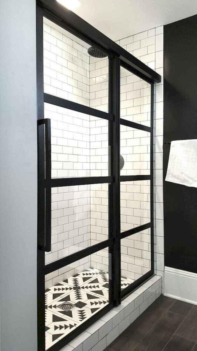 80 Best Farmhouse Tile Shower Ideas Remodel (142)