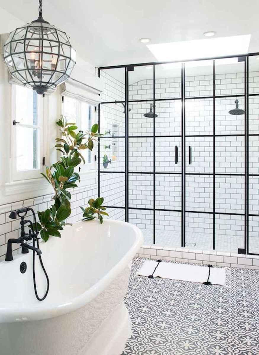 80 Best Farmhouse Tile Shower Ideas Remodel (153)