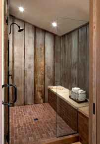 80 Best Farmhouse Tile Shower Ideas Remodel (160)