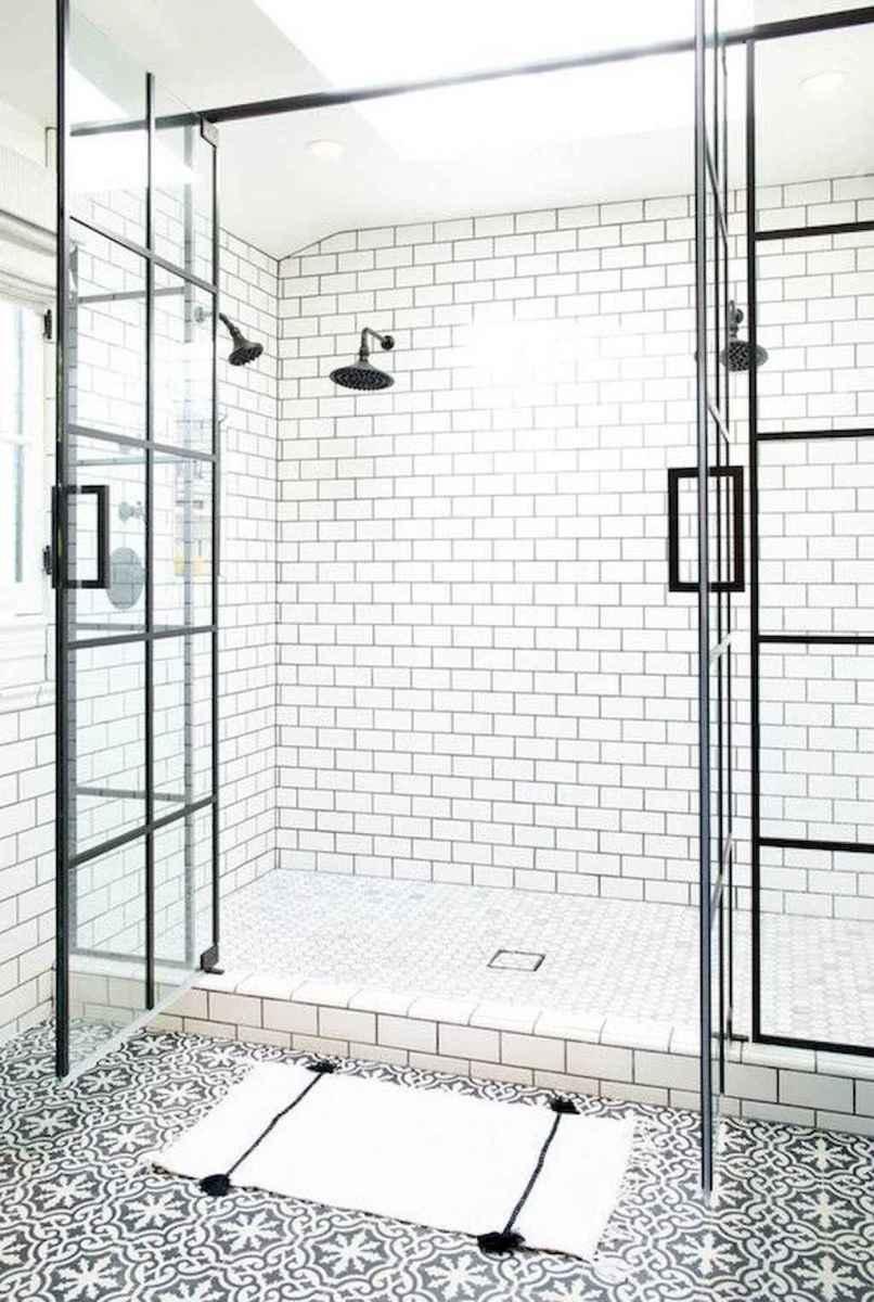 80 Best Farmhouse Tile Shower Ideas Remodel (163)