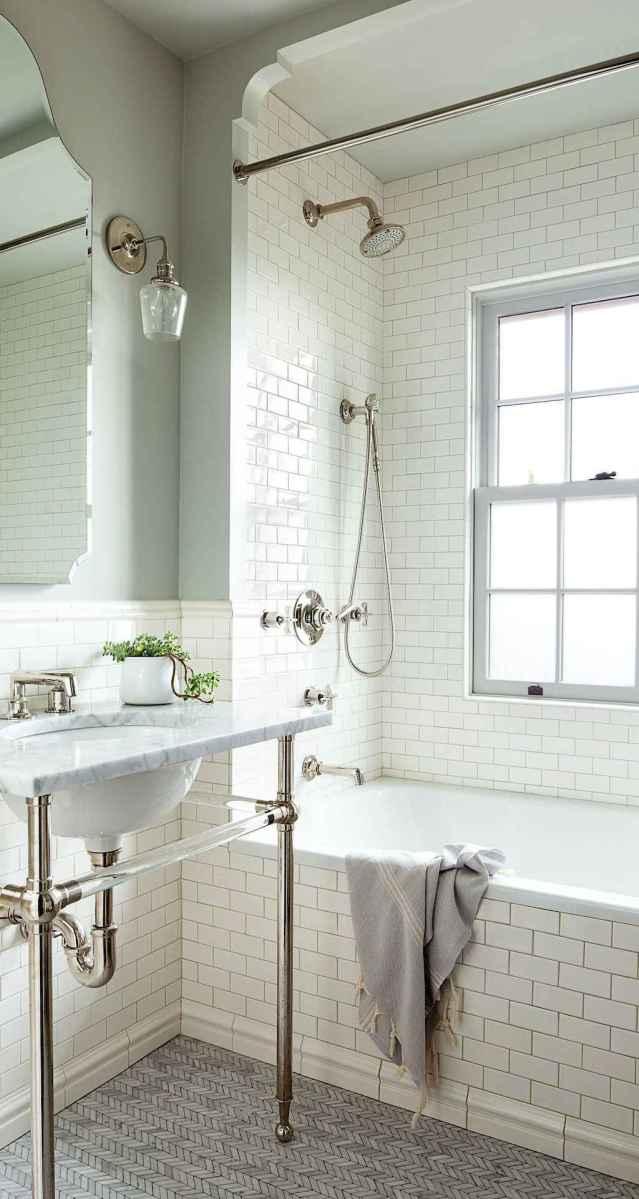 80 Best Farmhouse Tile Shower Ideas Remodel (96)