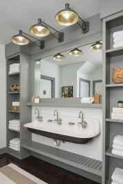 90 Awesome Lamp For Farmhouse Bathroom Lighting Ideas (19)