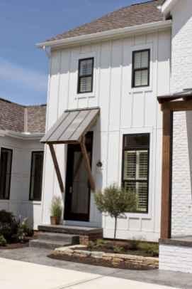 90 Awesome Modern Farmhouse Exterior Design Ideas (24)