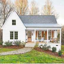 90 Awesome Modern Farmhouse Exterior Design Ideas (34)