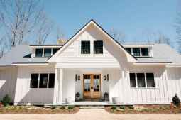90 Awesome Modern Farmhouse Exterior Design Ideas (38)