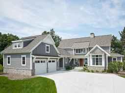 90 Awesome Modern Farmhouse Exterior Design Ideas (39)