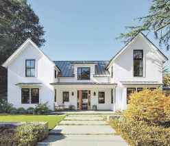 90 Awesome Modern Farmhouse Exterior Design Ideas (66)