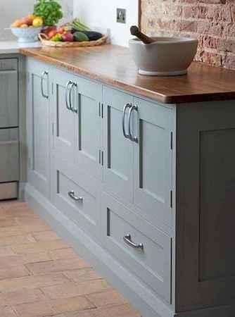 90 Best Farmhouse Kitchen Cabinet Design Ideas (112)