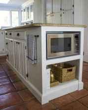 90 Best Farmhouse Kitchen Cabinet Design Ideas (115)