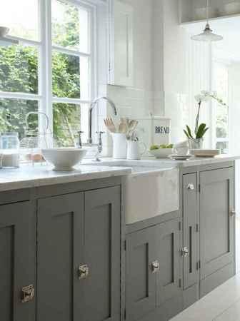 90 Best Farmhouse Kitchen Cabinet Design Ideas (152)