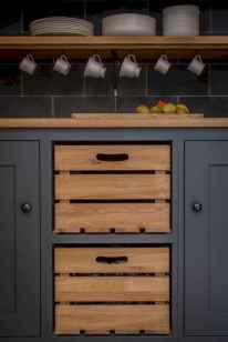 90 Best Farmhouse Kitchen Cabinet Design Ideas (157)