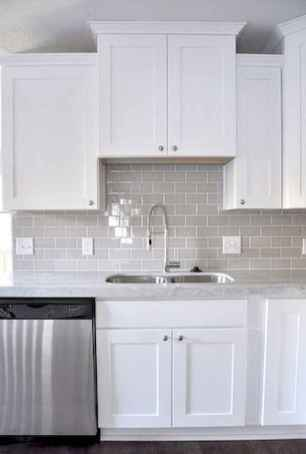 100 Elegant White Kitchen Cabinets Decor Ideas For Farmhouse Style Design (15)