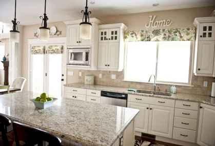 100 Elegant White Kitchen Cabinets Decor Ideas For Farmhouse Style Design (16)