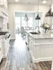 100 Elegant White Kitchen Cabinets Decor Ideas For Farmhouse Style Design (17)