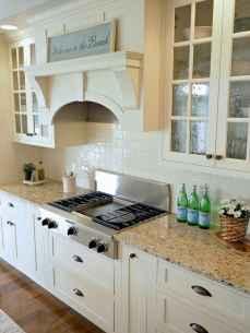 100 Elegant White Kitchen Cabinets Decor Ideas For Farmhouse Style Design (64)