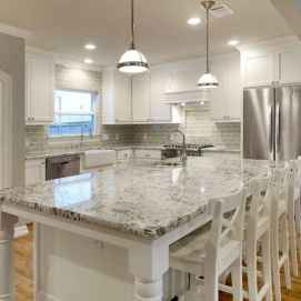 100 Elegant White Kitchen Cabinets Decor Ideas For Farmhouse Style Design (83)