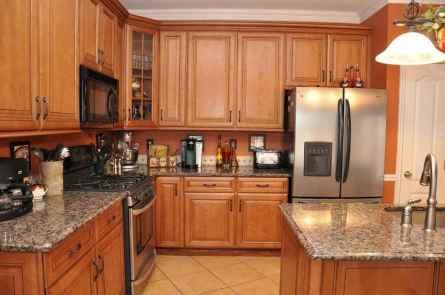 100 Supreme Oak Kitchen Cabinets Ideas Decoration For Farmhouse Style (103)