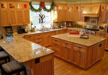 100 Supreme Oak Kitchen Cabinets Ideas Decoration For Farmhouse Style (19)