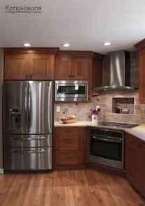 100 Supreme Oak Kitchen Cabinets Ideas Decoration For Farmhouse Style (26)
