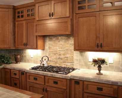 100 Supreme Oak Kitchen Cabinets Ideas Decoration For Farmhouse Style (34)