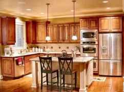 100 Supreme Oak Kitchen Cabinets Ideas Decoration For Farmhouse Style (44)