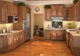 100 Supreme Oak Kitchen Cabinets Ideas Decoration For Farmhouse Style (70)
