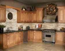 100 Supreme Oak Kitchen Cabinets Ideas Decoration For Farmhouse Style (96)