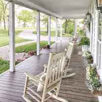 110 Beautiful Farmhouse Porch Decor Ideas (19)