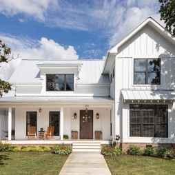 110 Beautiful Farmhouse Porch Decor Ideas (31)