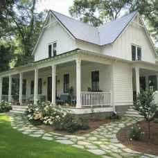 110 Beautiful Farmhouse Porch Decor Ideas (7)