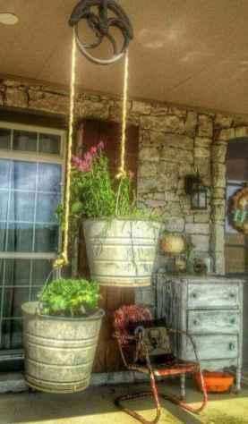 110 Beautiful Farmhouse Porch Decor Ideas (83)