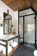 110 Fabulous Farmhouse Bathroom Decor Ideas (88)
