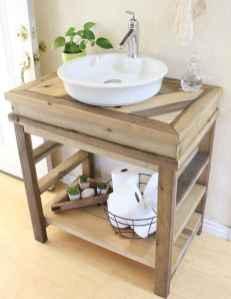 50 Amazing Farmhouse Bathroom Vanity Decor Ideas (52)