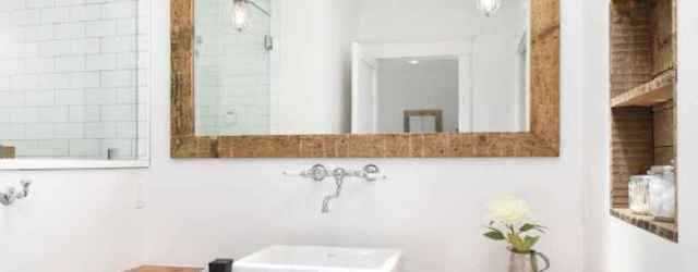 50 Amazing Farmhouse Bathroom Vanity Decor Ideas (78)