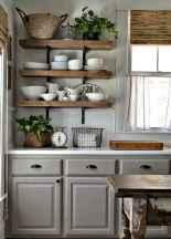 70 Pretty Farmhouse Kitchen Curtains Decor Ideas (24)