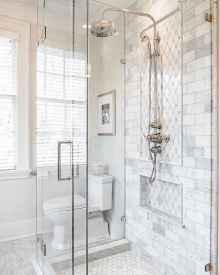80 Cool Farmhouse Tile Shower Ideas Remodel (19)