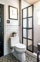 80 Cool Farmhouse Tile Shower Ideas Remodel (27)