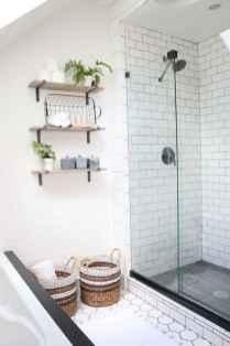 80 Cool Farmhouse Tile Shower Ideas Remodel (32)