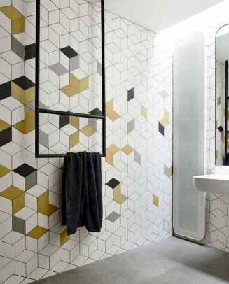 80 Cool Farmhouse Tile Shower Ideas Remodel (38)