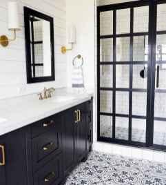 80 Cool Farmhouse Tile Shower Ideas Remodel (65)