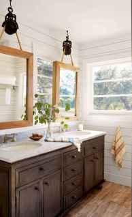 90 Awesome Lamp For Farmhouse Bathroom Lighting Ideas (121)