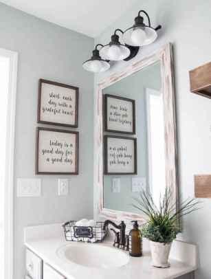 90 Awesome Lamp For Farmhouse Bathroom Lighting Ideas (88)