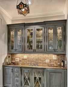 90 Best Farmhouse Kitchen Cabinet Design Ideas (13)
